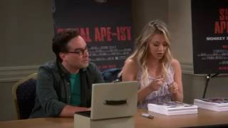 Big Bang Theory S10 E06 || Big bang theory Penny is a terrible Actr...
