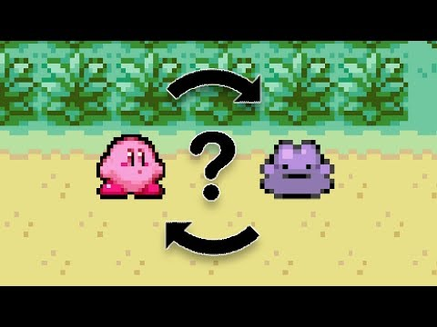 What if Kirby and Ditto transformed into each other?