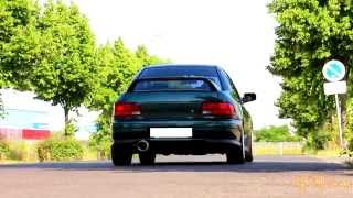Subaru Impreza Turbo 2000 (GC8) - HD Exhaust Sound, 2.5