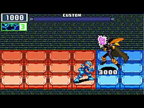 MegaMan Battle Network 6: Cybeast Gregar - Bass BX