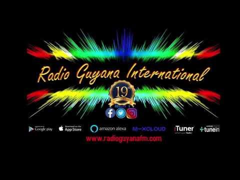 DJ Chris Live On Radio Guyana International...