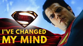I've Changed My Mind About Man of Steel