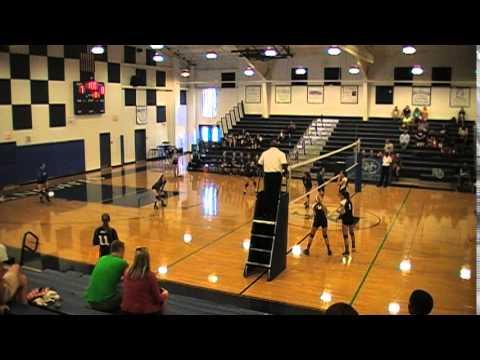Lake Norman Charter JV Volleyball VS Stuart Cramer 9 10 15 Set #1
