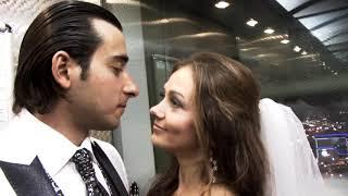 """Свадьба в гостинице """"Милан"""" - очень красивые жених и невеста"""