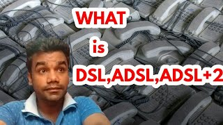 DSL connection what is DSL? ADSL (THE INTERNET) part 2 HINDI
