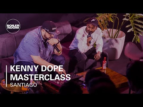 Kenny Dope of Masters At Work Production Masterclass | Boiler Room BUDx Santiago