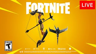 🔴 [LIVE] *NEW* FORTNITE UPDATE! (GRAPPLER BOW)