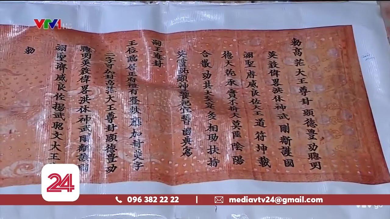 Báo động tình trạng trộm cắp cổ vật quý tại Nam Định   VTV24