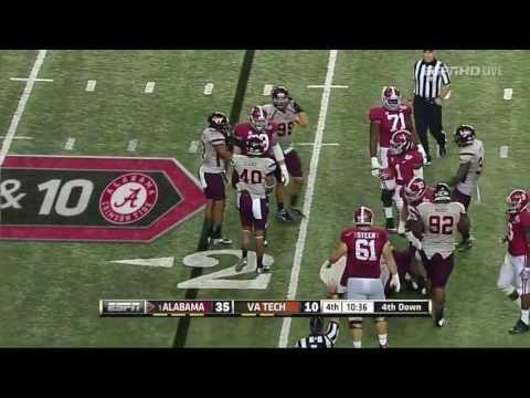Alabama Vs Virginia Tech FULL GAME HD 2013