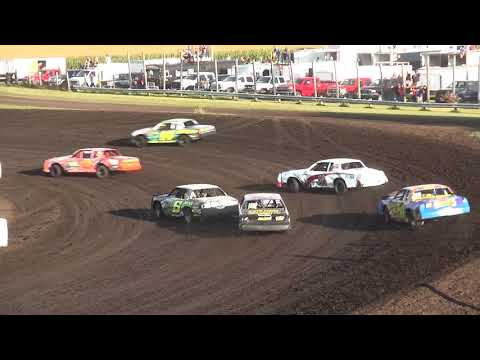 IMCA Hobby Stock Heats Benton County Speedway 8/13/17