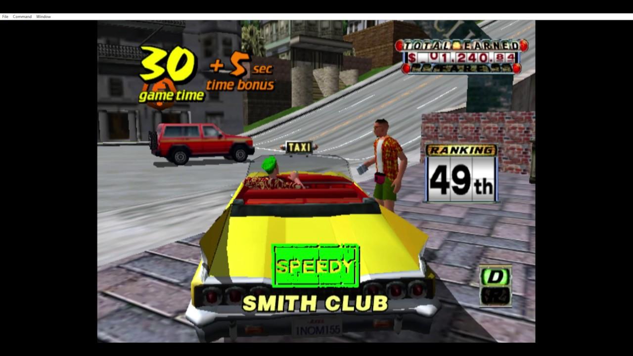 Crazy Taxi - Nintendo Gamecube - RetroArch dolphin