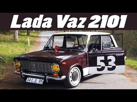 Lada Vaz 1980 Model 2101