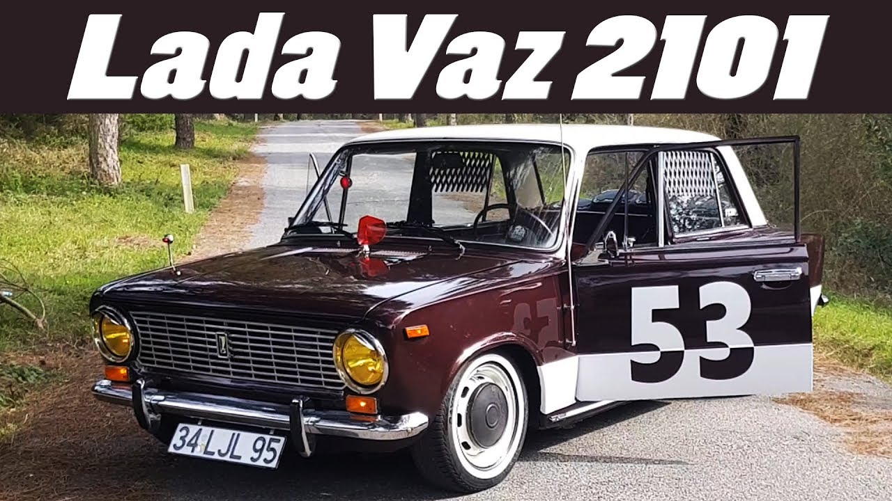 Efsane Klasik Lada Vaz 1980 Model 2101 Youtube