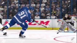 Трейлер NHL 12 - Пятидесятый гол Стивена Стэмкоса