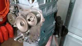 Kubota D722 3 cyl Diesel rebuild out of a Toro Dingo