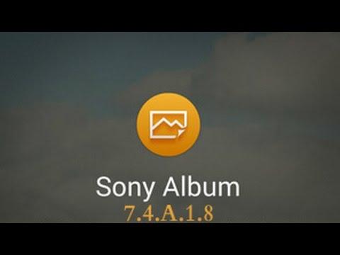 Album App Updated [APK] - Sony Xperia