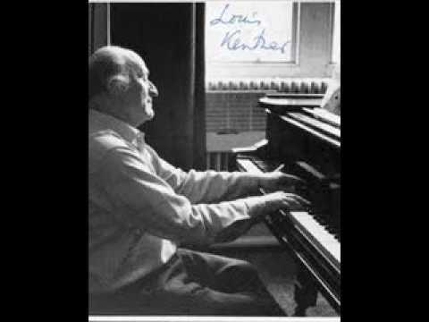 "Louis Kentner plays Liszt ""Roumanian Rhapsody"""