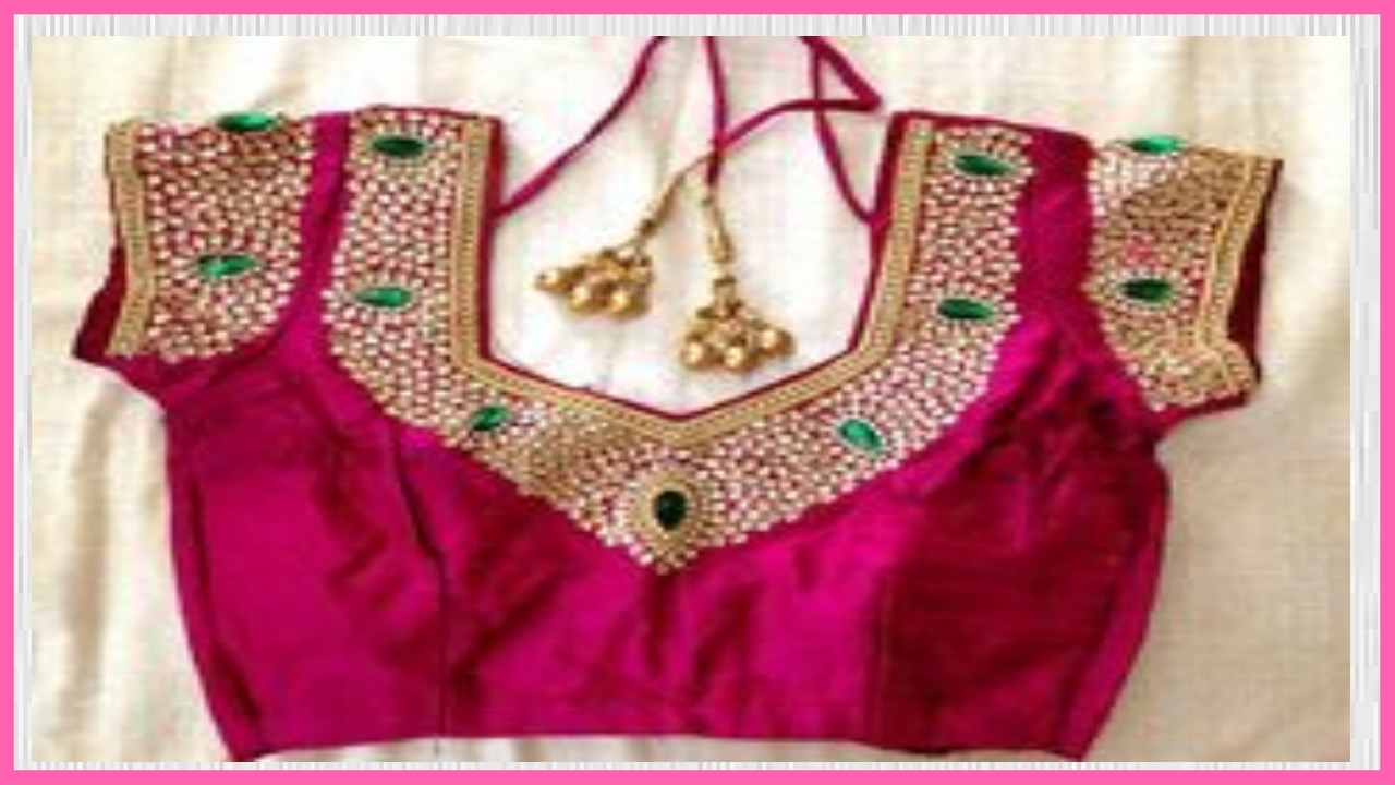 Designer Work Blouses - YouTube