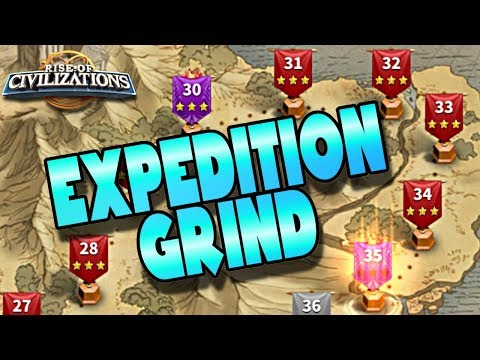 Earn More Rewards Grinding Expeditions | Rise of Civilizations