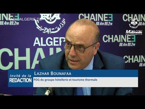 Lazhar Bounafaa PDG du groupe hôtellerie et tourisme thermale