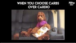 When You Choose Carbs Over Cardio - POPxo