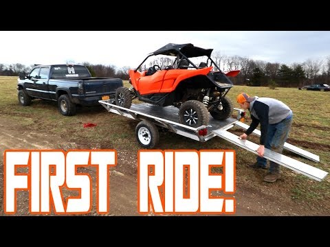 First Ride on The New YXZ!!!