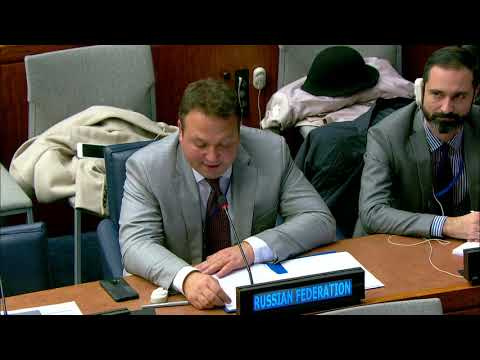 Statement by the Representative of Russia in the 4th Committee on Questions related to Information
