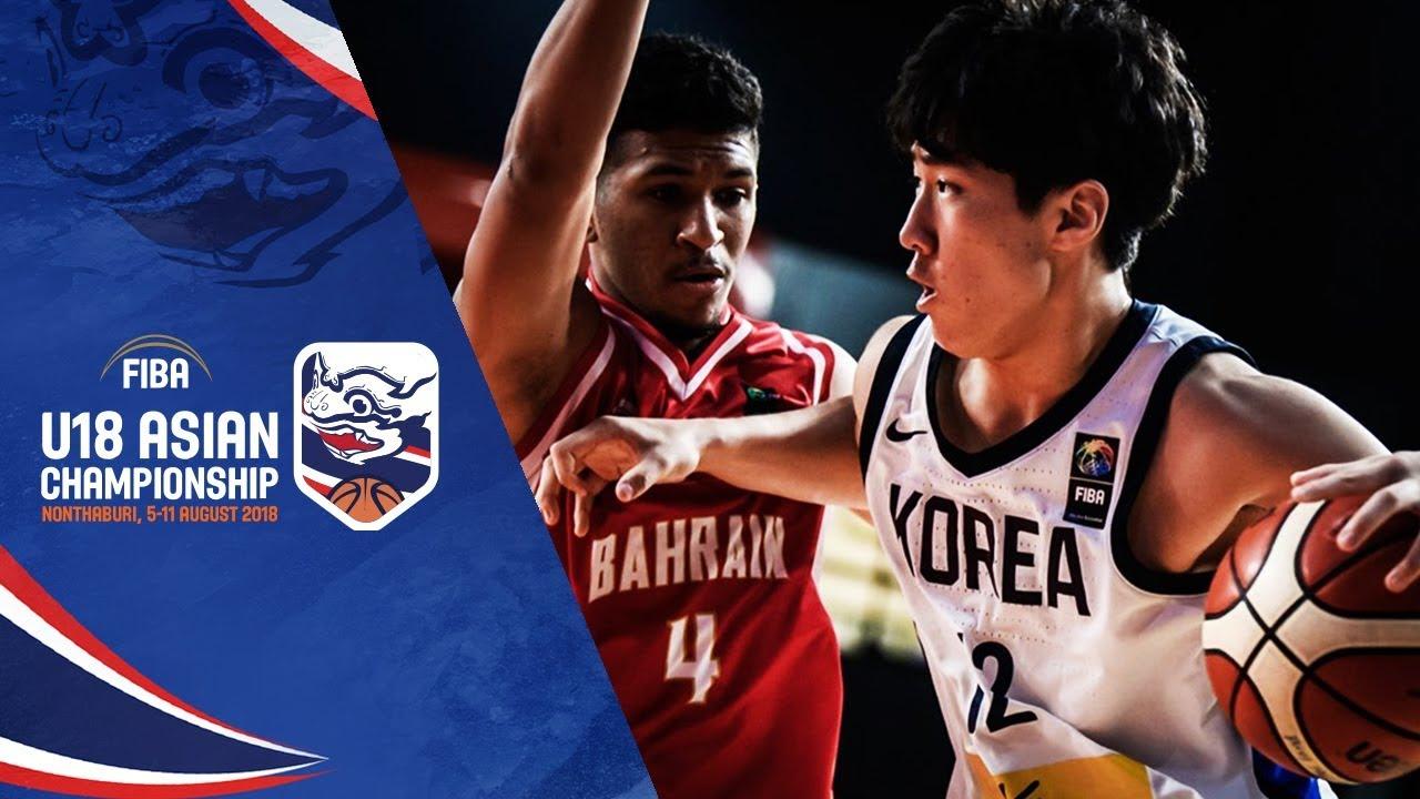 Korea v Bahrain - Full Game - Class. 7-8