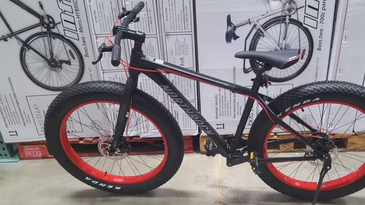 Costco Northrock Xc00 Fat Tire Bicycle 299 Is It Any Good Youtube