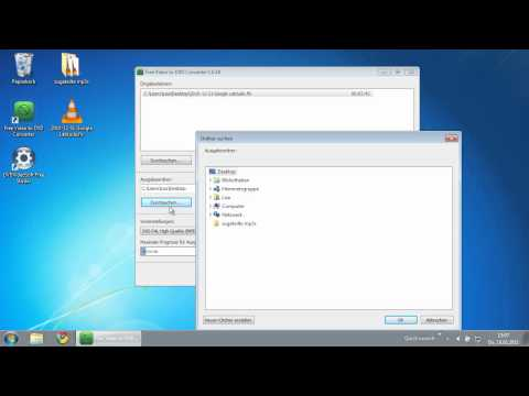 (DE) Free Video to DVD Converter