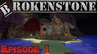 Minecraft Brokenstone : Episode 1 : Wizards we shall be! Thumbnail