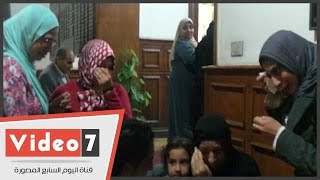 شاهد بكاء أبناء وأحفاد أم مثالية فى يوم تكريمها بالقاهرة