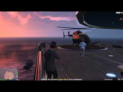 Grand Theft Auto V Ep.89 Yacht Defense
