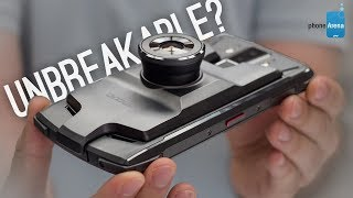 Destroying an ultra rugged modular phone: Doogee S90 hands-on and drop test