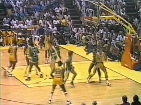 1984 NBA Finals: Celtics at Lakers, Gm 6 part 4/12