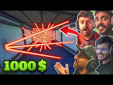 تحديت أعضاء باور على 1000 دولار !!😳 (ضربوني وأنطردت 😭💔)