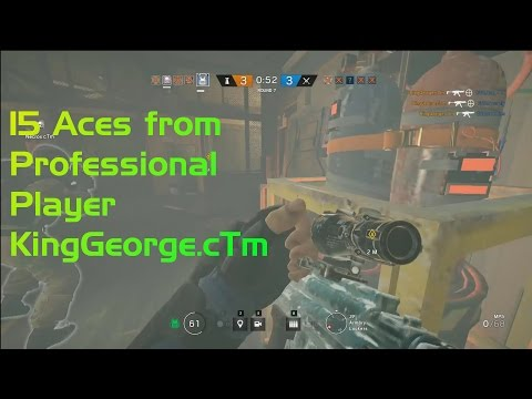 15 Aces from Professional player KingGeorge.cTm