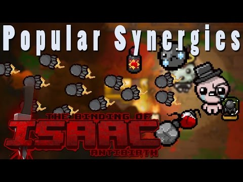 The Binding of Isaac Antibirth | Missile Bombs! | Popular Synergies!