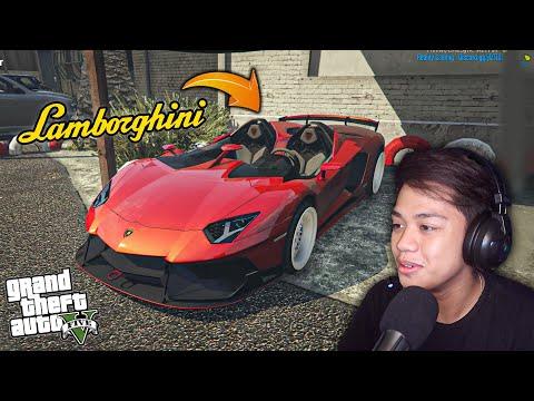 Stealing a Lamborghini