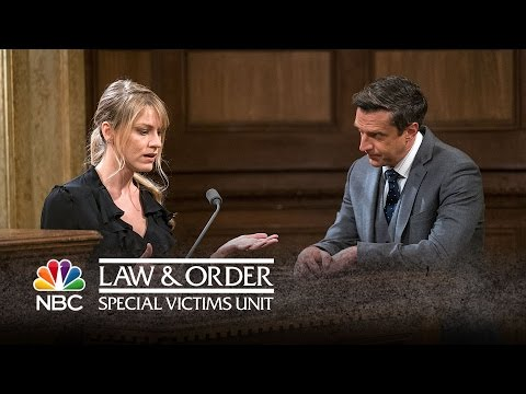 Law & Order: SVU - Courtroom Strip Down! (Episode Highlight)