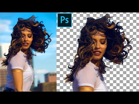 How to Remove multi color background in photoshop Cc 2019