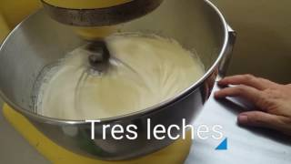 Como hacer Tres leches de pistacho