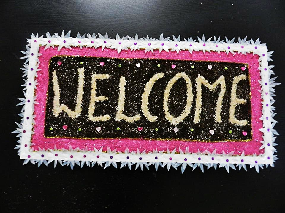 fully recycled diy welcome home front door board hanging youtube