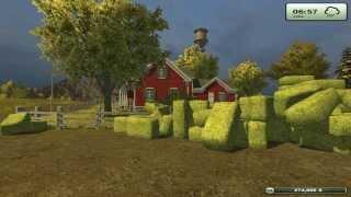 Farming simulator 2013. Урок 4 - Заготовка сена и соломы