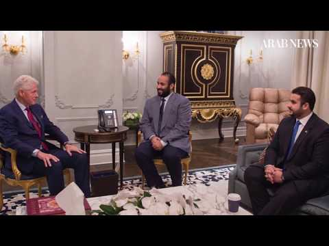 Saudi Crown Prince Mohammed Bin Salman's US tour highlights