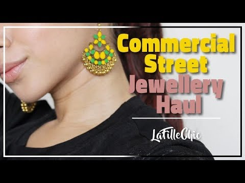 Commercial Street Try on Jewellery Haul | Bangalore || LaFilleChic