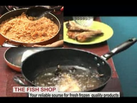 Jollof Rice with Croaker -by Mercy Aigbe