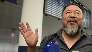 Китайский диссидент Ай Вэйвэй смог покинуть Китай (новости)