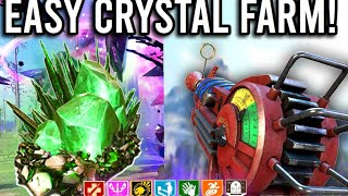 FASTEST CRYSTAL FARMING METHOD IN COLD WAR ZOMBIES! How to Get Refined and Flawless Crystals EASY