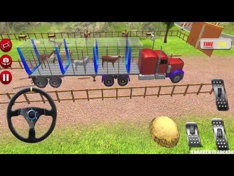 Farm Animal Transporting Truck Simulator 3D 2017 | Pet Animal - Android GamePlay FHD